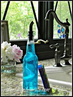 Bierflasche Seifenspender, Wiederverwendung Upcycling ist dieses Flasche schön leicht und einfach zu bedienen, wenn Ihre Hände Seifen