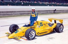 Indy 500 winner 1987: Al Unser  Starting Position: 20  Race Time: 3:04:59.147  Chassis/engine: March/Cosworth