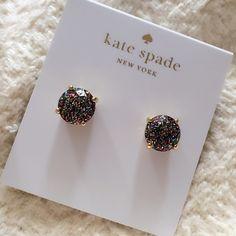 Glitter Kate Spade Gumdrop Studs Gorgeous Kate Spade Studs kate spade Jewelry Earrings