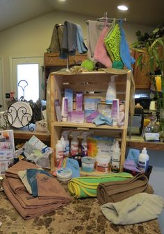 This is a picture of one of my Norwex displays...what do you think?