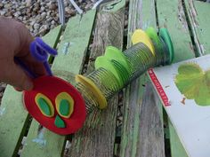 """mollie's mom: A Very Hungry Caterpillar is""""slinking"""" around here..."""