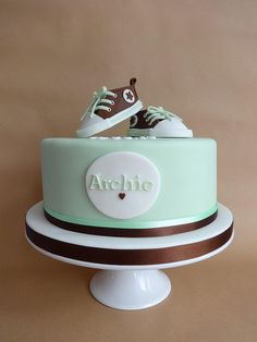converse christening cake | Flickr - Photo Sharing!