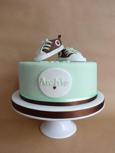converse christening cake | Flickr - Photo Sharing!