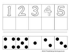 FREE--Math Dots 1-5