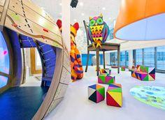 Conheça o hospital infantil mais colorido do mundo