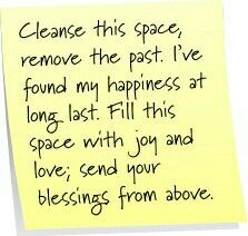 Cleanse this space