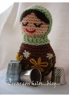 Free pattern Matrioska amigurumi... Thanks for sharing this beauty! �\_(?)_/�.