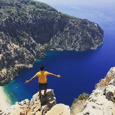 Such pictures can be taken on the way from #Oludeniz to #Faralya or #Kabak beach :-) Amazing Butterfly Valley