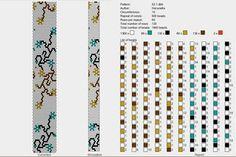 Around bead crochet rope pattern Bead Crochet Patterns, Peyote Patterns, Loom Patterns, Crochet Designs, Beading Patterns, Spiral Crochet, Bead Crochet Rope, Beaded Crochet, Loom Bracelet Patterns