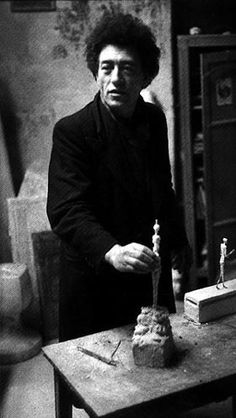 Henri Cartier-Bresson, Portrait of Alberto Giacometti: Giacometti is my favorite artist of all time. His pieces and paintings are haunting and starkly beautiful. Unique. I love him.