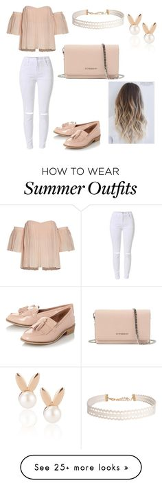 """""""Summer Outfit"""" by shannonwareing on Polyvore featuring Steve Madden, Givenchy, Humble Chic and Aamaya by priyanka"""