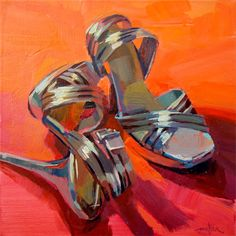 These are NOT Dancin' Shoes, I learned the hard way. Nor are they walkin' shoes. Or go to see a concert shoes. They are, however, wonderfu...