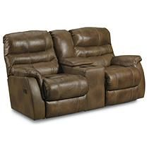 Lane Furniture Branyon Double Reclining Loveseat With Console And Storage