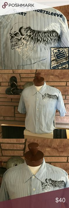 🆕Men's NWT Machine Clothing Co. Shirt You will look great in this brand new short sleeve button-down shirt by Machine Clothing Company.    From a smoke-free and happy-to-bundle closet.   No trades or transactions outside of Poshmark.  [T514] Machine Clothing Company Shirts Casual Button Down Shirts