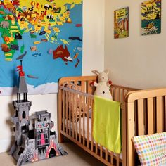 Here´s a cool map for the kids room. It would be cool if it was magnetic. Home Bedroom, Kids Bedroom, Bedroom Decor, Bedroom Ideas, Map Bedroom, Kids Rooms, Childrens Bedroom Furniture, Man Room, Child's Room