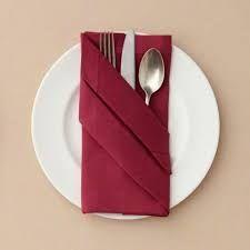 Afbeeldingsresultaat voor ways to fold paper napkins