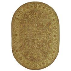 Safavieh Antiquities AT311 Brown Gold