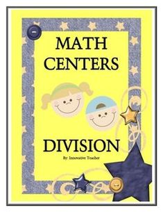 Math Centers Division - Math CCSS includes 5 center activities that will strengthen your student's understanding of division.