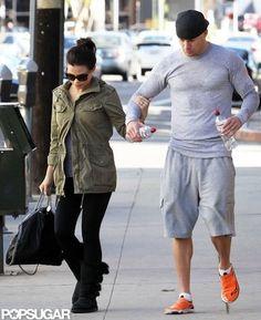 Channing Tatum and Jenna Dewan Go to Dance Class in LA