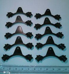 "10 Heavy Duty Reinforced Plastic 1/"" PEX Tubing Bend Supports w// Ear"