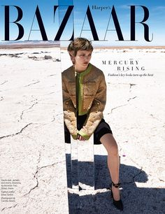 Harpers Bazaar August 2016 Peyton Knight by Camilla Akrans-1