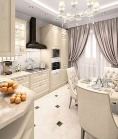 Why You Should Consider Renovating Your Kitchen – Home Dcorz Apartment Kitchen, Home Decor Kitchen, Kitchen Furniture, Kitchen Dining, Kitchen Cabinets, Dining Rooms, Kitchen Ideas, Interior Design Trends, Interior Design Kitchen