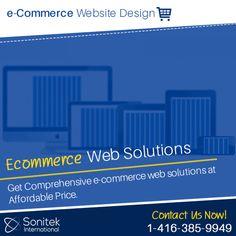 Ecommerce Web Design, Website, Business, Business Illustration