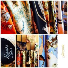 Just arrived at Secondi: Hermès and Ferragamo scarves, each more beautiful than the one before! Stop in or call 202-667-1122 for more details and pricing! (at Secondi)