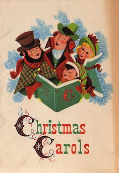 A Collection of 20 Stunning Vintage-Inspired Christmas Cards Christmas Carol Book, Old Time Christmas, Vintage Christmas Images, Old Fashioned Christmas, Christmas Past, Vintage Christmas Ornaments, Christmas Books, Christmas Music, Retro Christmas