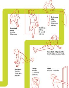 Knowing how to stretch before your run is super-important to prevent injury and improve mobility. Make sure you add these moves to your stretch routine. Weight Loss Workout Plan, At Home Workout Plan, Workout Schedule, At Home Workouts, Workout Routines, Workout Ideas, Workout Motivation, Streches Before Running, Streches Before Workout