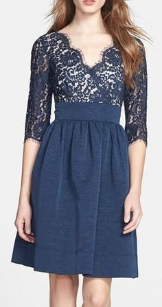 Navy Lace Dress (They have it at Nordstrom and Lord and Taylor)