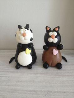 Sugar Paste Cats!