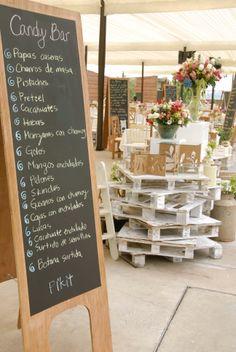 #pizarrones, #chalkboard ideales para asignar, contar una historia o detallar el menú!