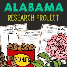 Alabama state study alabama activities and social studies alabama state history research project this complete notebook unit is the perfect companion to your fandeluxe Image collections