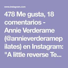 "478 Me gusta, 18 comentarios - Annie Verderame (@annieverderamepilates) en Instagram: ""A little reverse Teaser progression for #teasertuesday 🔺🔺🔺🔺🔺🔺🔺🔺🔺🔺🔺🔺🔺🔺 I am on 1 Red spring.…"""