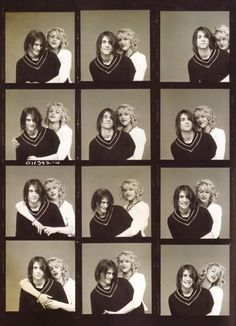 Courtney Love and Kurt 'Donald' Cobain [February 1967 – April ♡ Nirvana. Courtney Love Hole, Kurt And Courtney, Frances Bean Cobain, Donald Cobain, Contact Sheet, Nirvana Kurt Cobain, Dave Grohl, Foo Fighters, Art Design