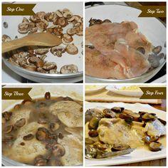 Skinny Chicken Marsala for #WeekdaySupper | Momma's Meals