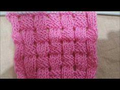 AJURLU HASIR VEYA SEPET ÖRGÜ MODELİ NASIL YAPILIR? Knit Patterns, Knitting, Youtube, Tejidos, Knitting Patterns, Tricot, Breien, Stricken, Knit Stitches