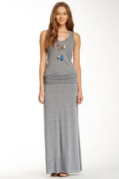 Racerback Scoop Maxi Dress