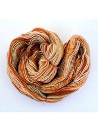 Caramel Swirl - 3ply merino - Sock weight