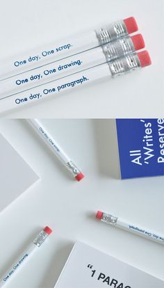 One Day Pencil Set