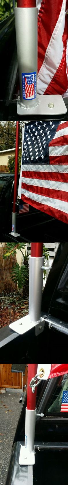 Flag Poles And Parts 43536 Universal Truck Bed Corner Mount Flag Pole Holder Buy It Now Only 43 99 On Ebay Flag Pole Flag Pole Holder Flag