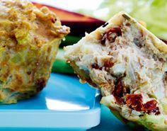 Kyllingemuffins er perfekte til madpakken og nemme at lave. En perfekt opskrift.