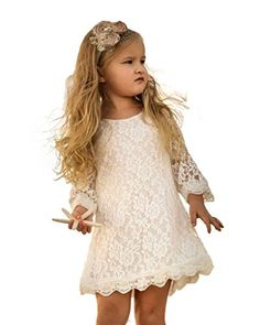 CVERRE Flower Girl Lace Dress Country Dresses with sleeves 1-6 ( White, 160) CVERRE http://www.amazon.com/dp/B01ANLKV0Y/ref=cm_sw_r_pi_dp_3MW5wb15T23JT