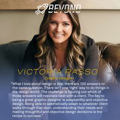 Meet Victoria, Graphic Designer at Taylor & Pond! 💻 Victoria enjoys classic Italian music, new adventures and competitive games with friends and family 🎲 Classic Italian, New Adventures, Pond, Interview, Challenges, Victoria, Meet, Graphic Design, This Or That Questions