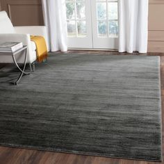 Safavieh Vision Contemporary Tonal Grey Area Rug (4' x 6') (Vision Grey Rug), Size 4' x 6' (Plastic, Geometric)