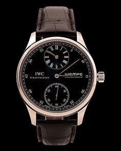 Discover a large selection of IWC Portuguese watches on - the worldwide marketplace for luxury watches. Compare all IWC Portuguese watches ✓ Buy safely & securely ✓ Dream Watches, Cool Watches, Iwc Watches, Code Black, Casual Watches, Luxury Watches For Men, Beautiful Watches, Watches Online, Watch Brands
