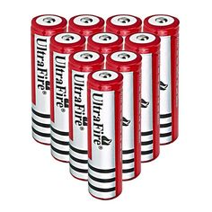 Ultra Fire 4000mAh 18650 Li-ion Rechargeable Battery Cell with Free Charger