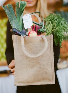 The theme for this month is farmer's market, and we'll be focusing on everything farm-to-table and organic and rustic and generally farm fabulous, alongside our … Wedding Gift Bags, Wedding Book, Farm Wedding, Wedding Table, Diy Wedding, Wedding Favors, Wedding Burlap, Wedding Ideas, Wedding Bells