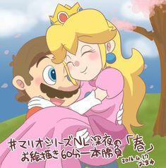 Luigi And Daisy, Mario And Luigi, Mario Bros, Princes Peach, Mario Funny, Mario Comics, Mario And Princess Peach, Super Mario Art, Cartoon Ships